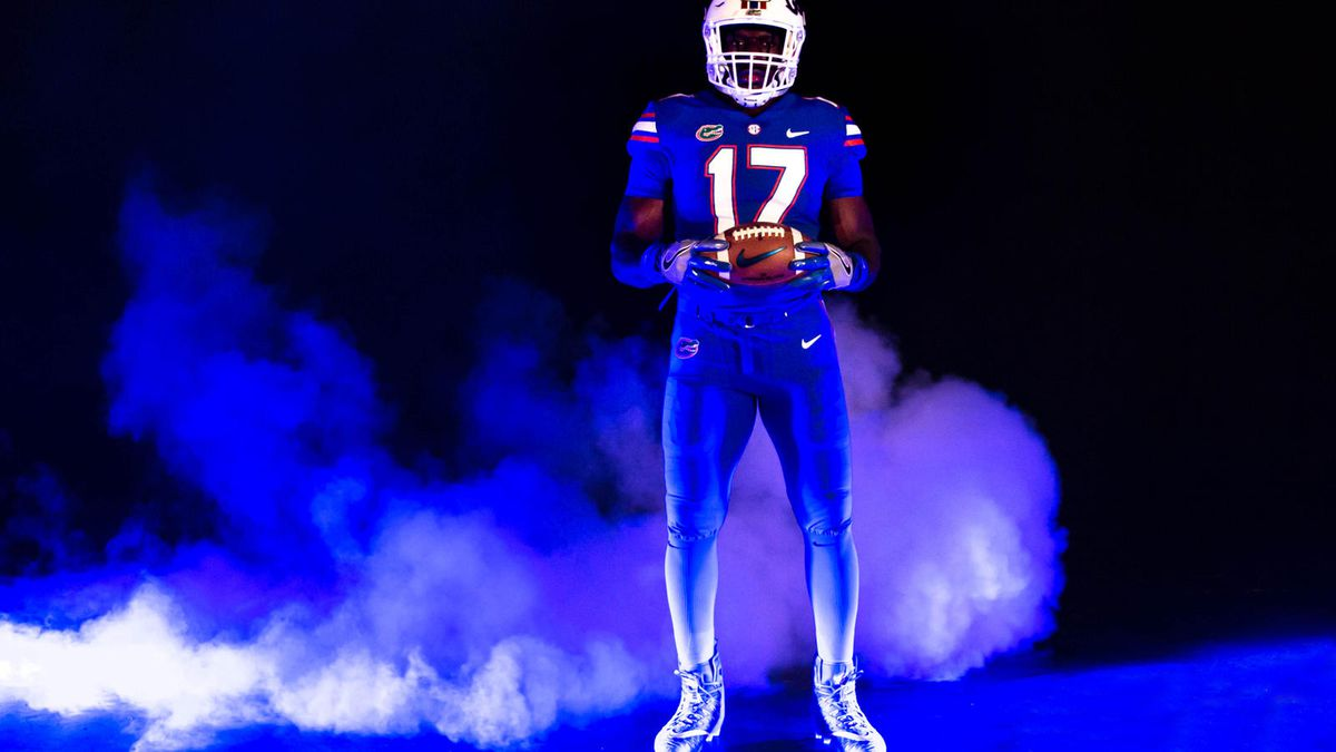best loved dd100 8be66 LOOK: Florida and Michigan Nike color rush jerseys unveiled ...