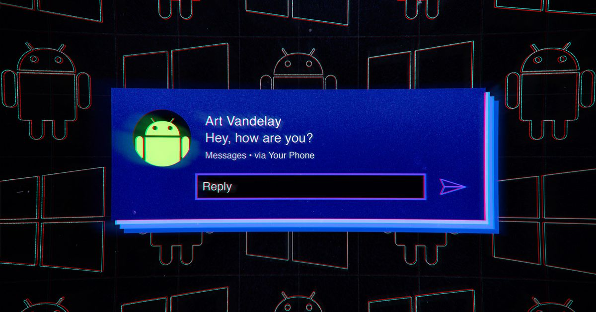 How to check your Android phone's notifications on a Windows PC