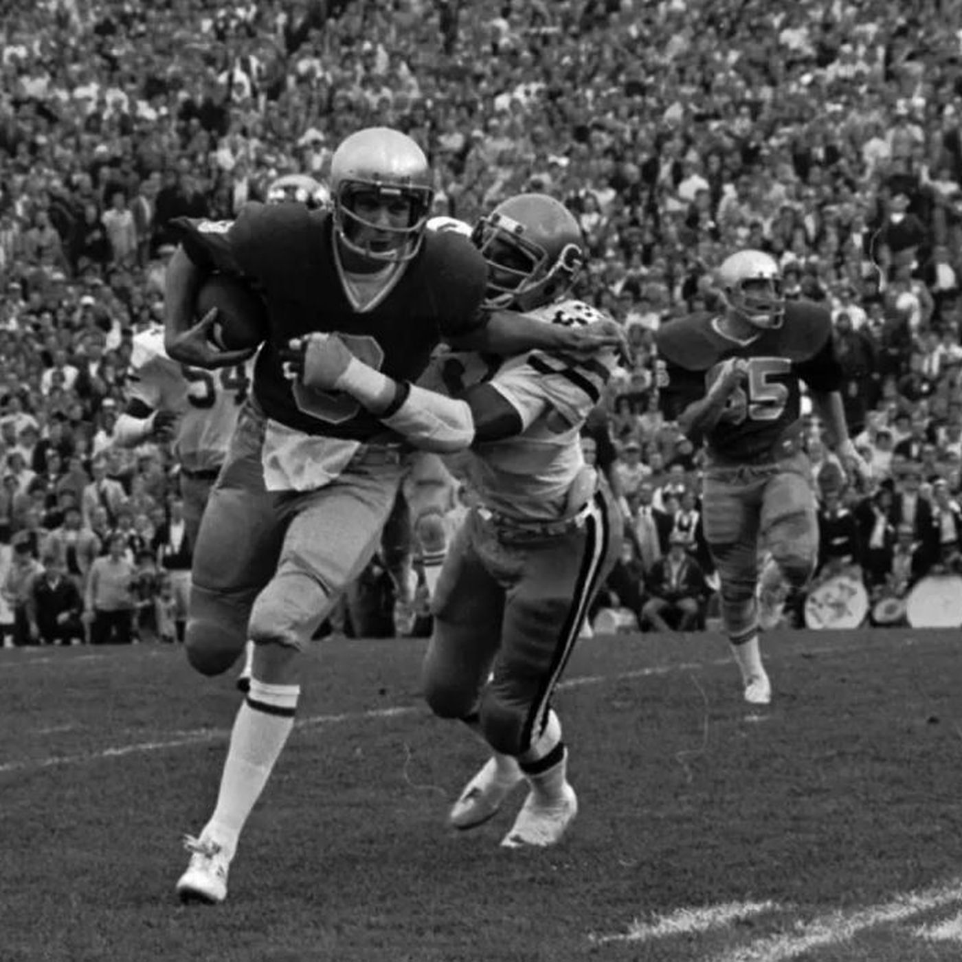 Hey Joe Looking Back At Notre Dame Vs Georgia Tech From 1977 One Foot Down