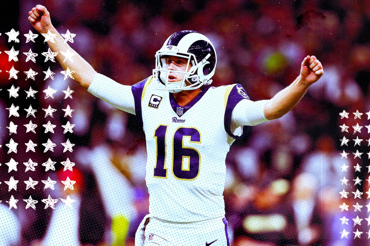 promo code 79a23 8a2fa Super Bowl 2019: Is playoff Jared Goff good enough to beat ...