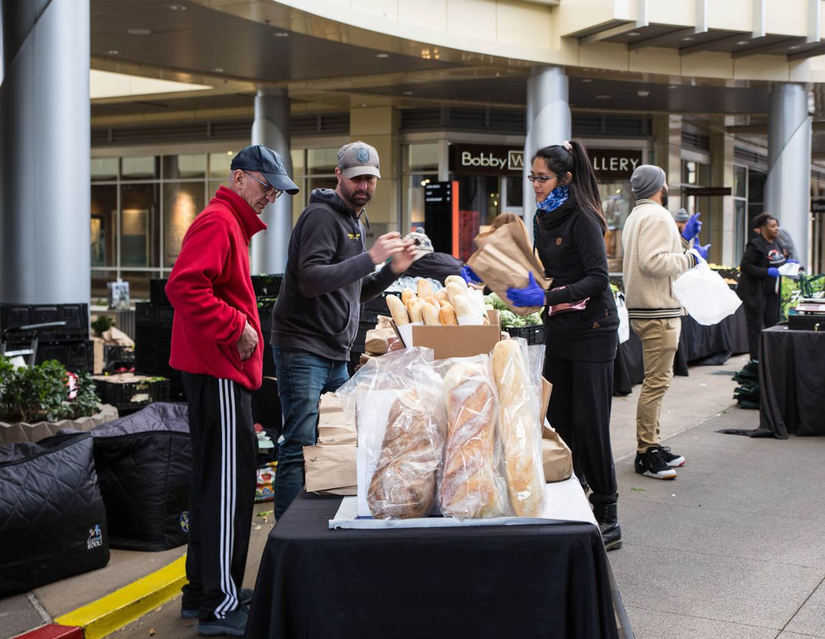 Bread available at the Las Vegas Farmers Market at Downtown Summerlin