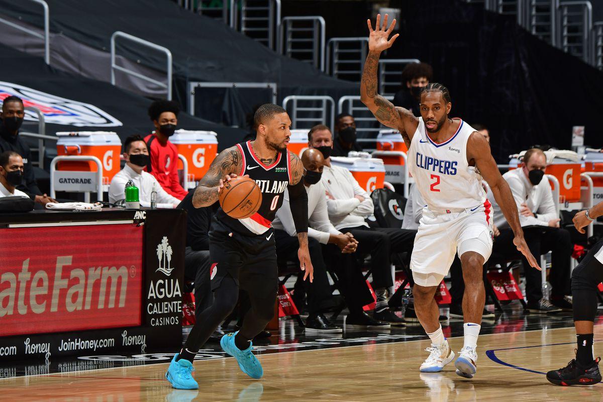 Portland Trail Blazers v LA Clippers
