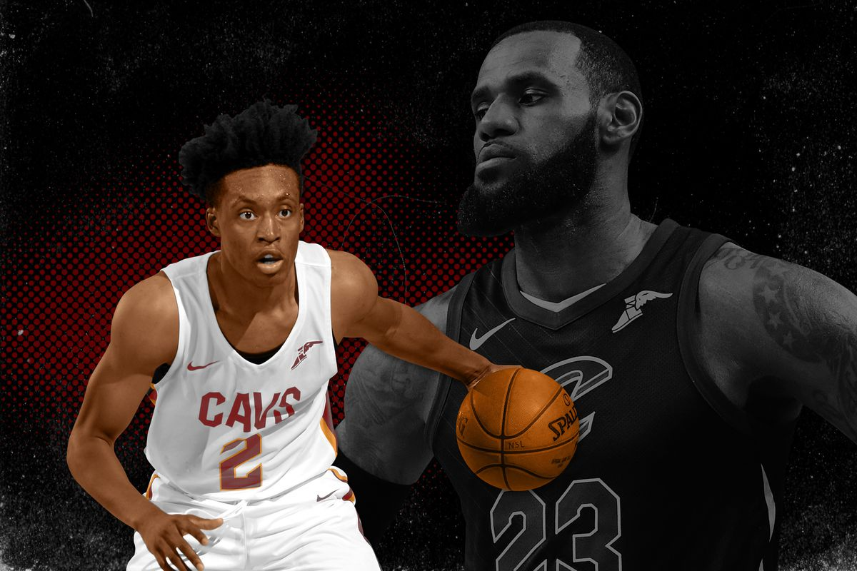 1aa0cea0 Share The Cavaliers' Young Bull Is Ready to Run. tweet share Flipboard  Email. Collin Sexton and LeBron James