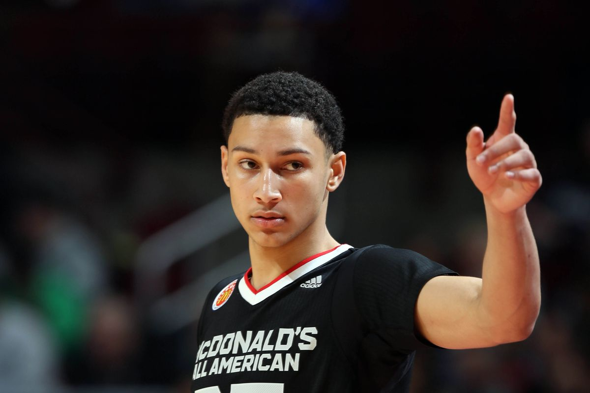 Ben Simmons tops the early NBA prospect list for 2016.