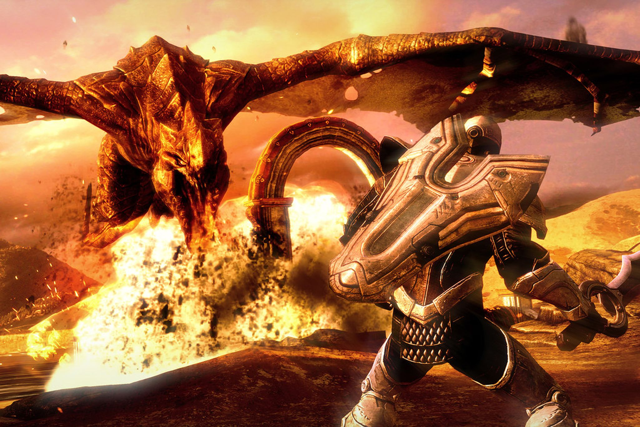 Infinity Blade III' review: once more unto the breach | The Verge