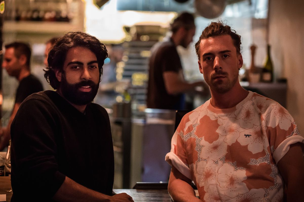 Le Fantôme's Kabir Kapoor and Jason Morris
