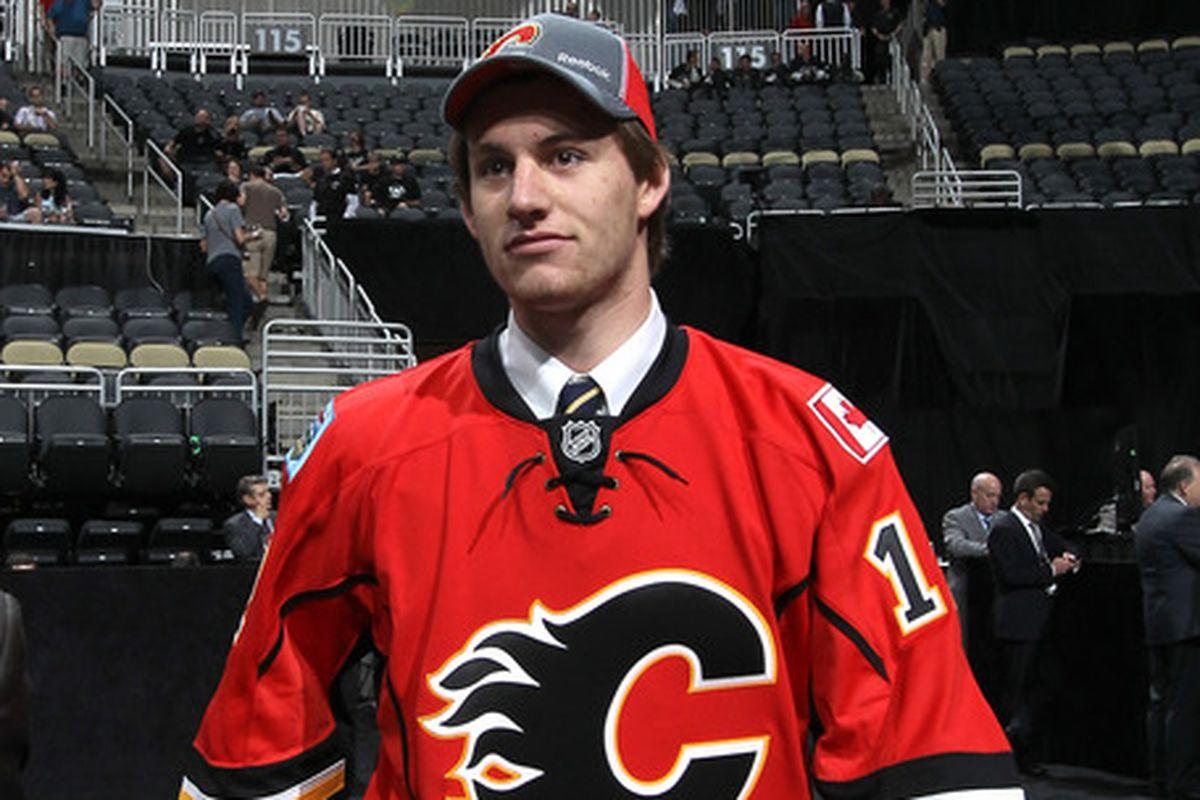 Providence goaltender and Calgary Flames prospect Jon Gillies
