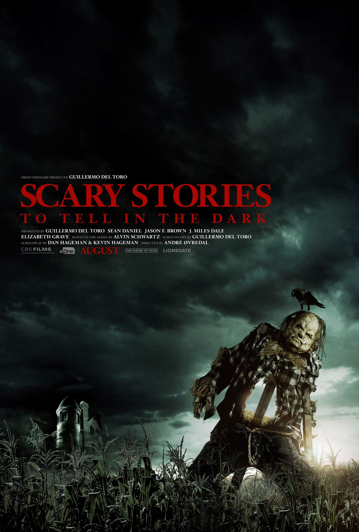Scary stories that are told in the dark poster with Harold the Scarecrow