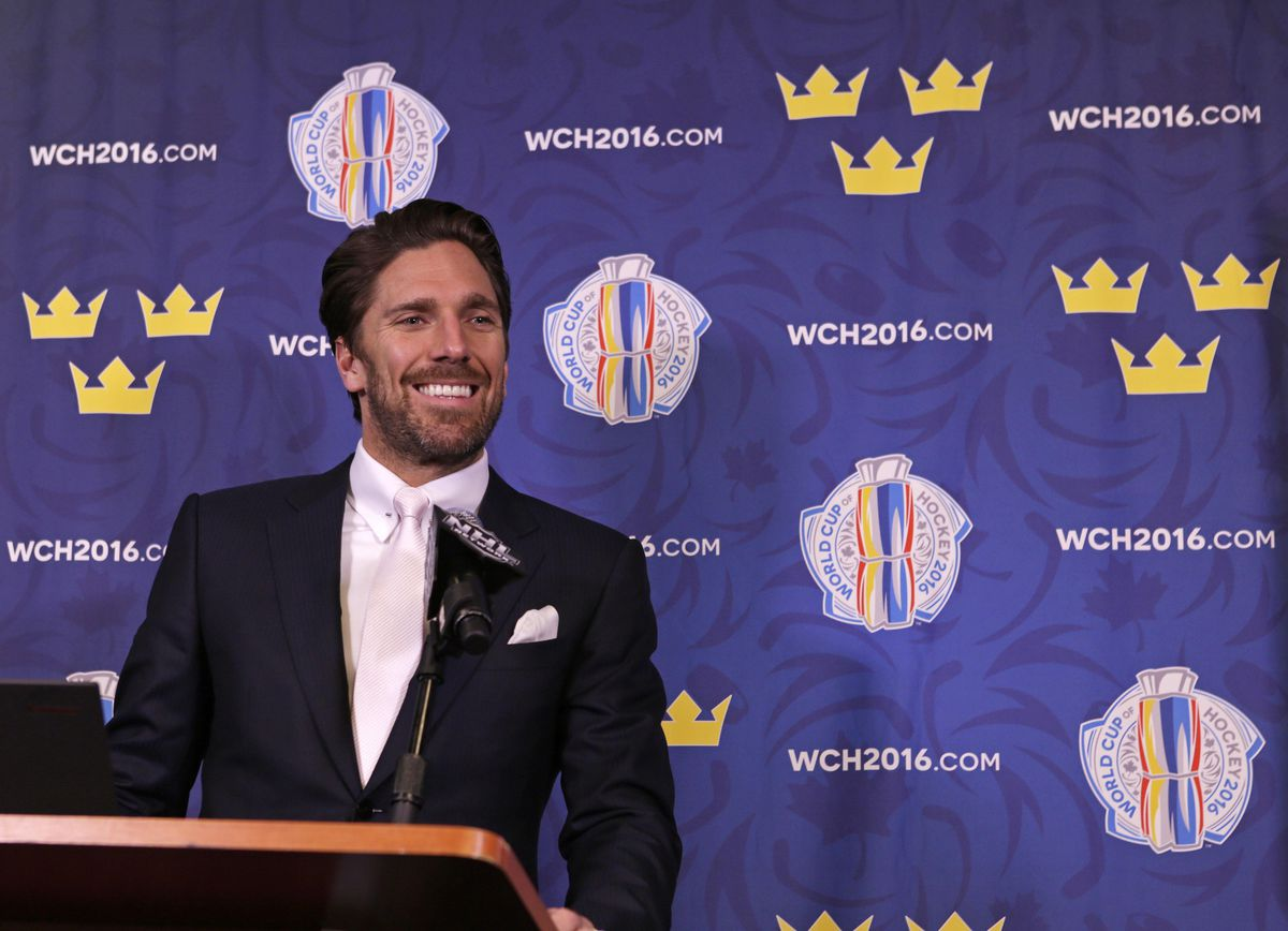 Hockey: World Cup of Hockey-Press Conference