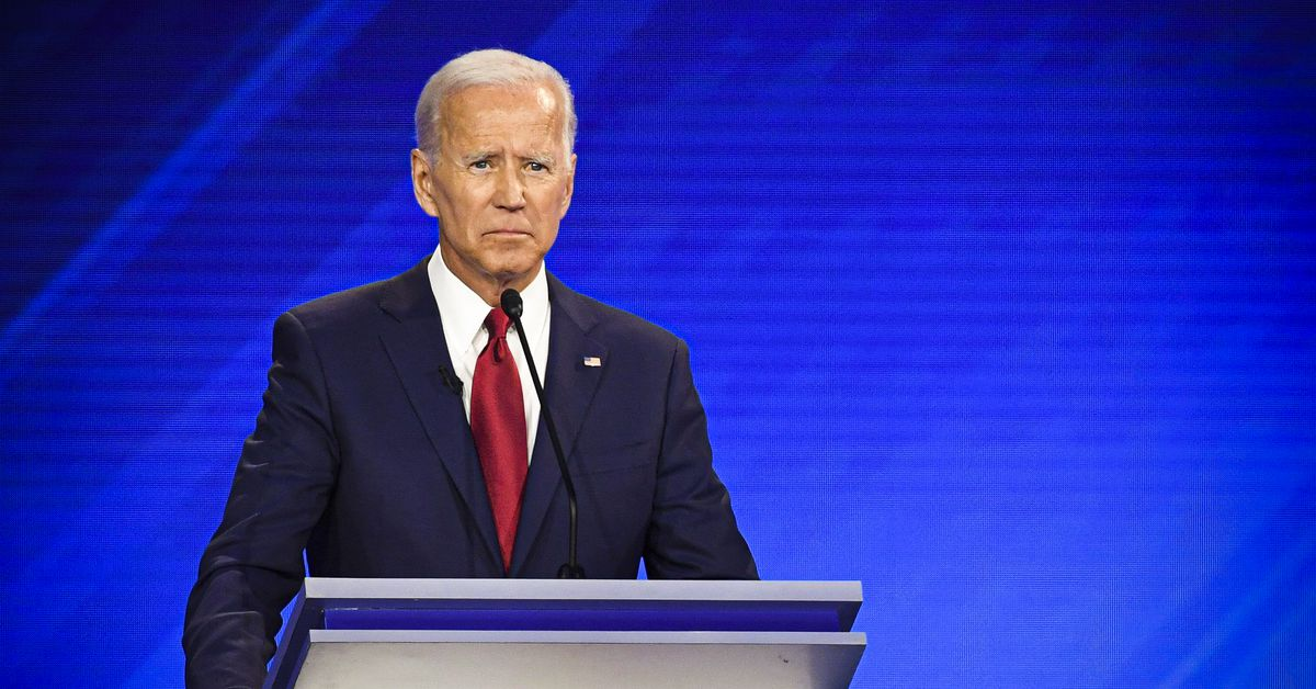 Read Joe Biden's baffling debate answer about record players