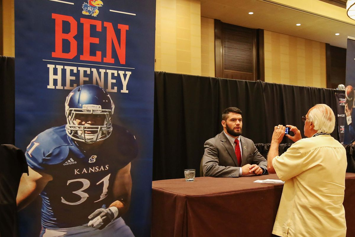 Ben Heeney is about the only Jayhawk I can stand to watch play. With a little luck, Cody Marley can be a similar player.