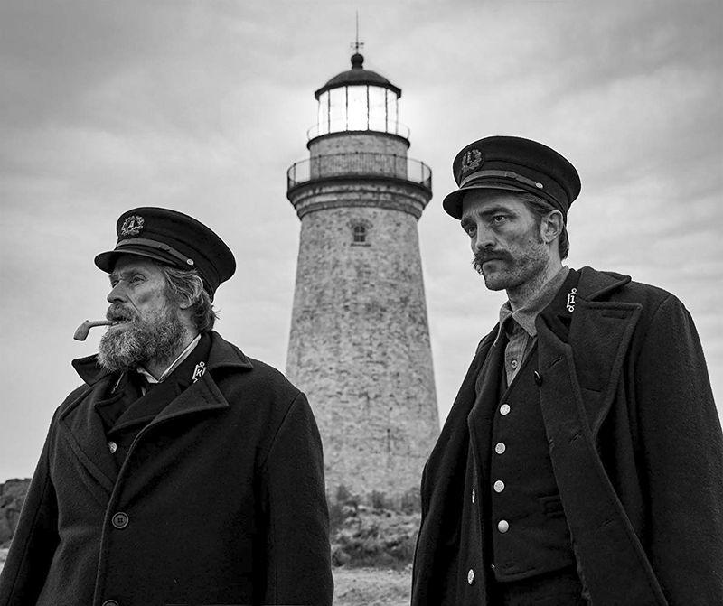 Willem DafoeandRobert PattinsoninThe Lighthouse.
