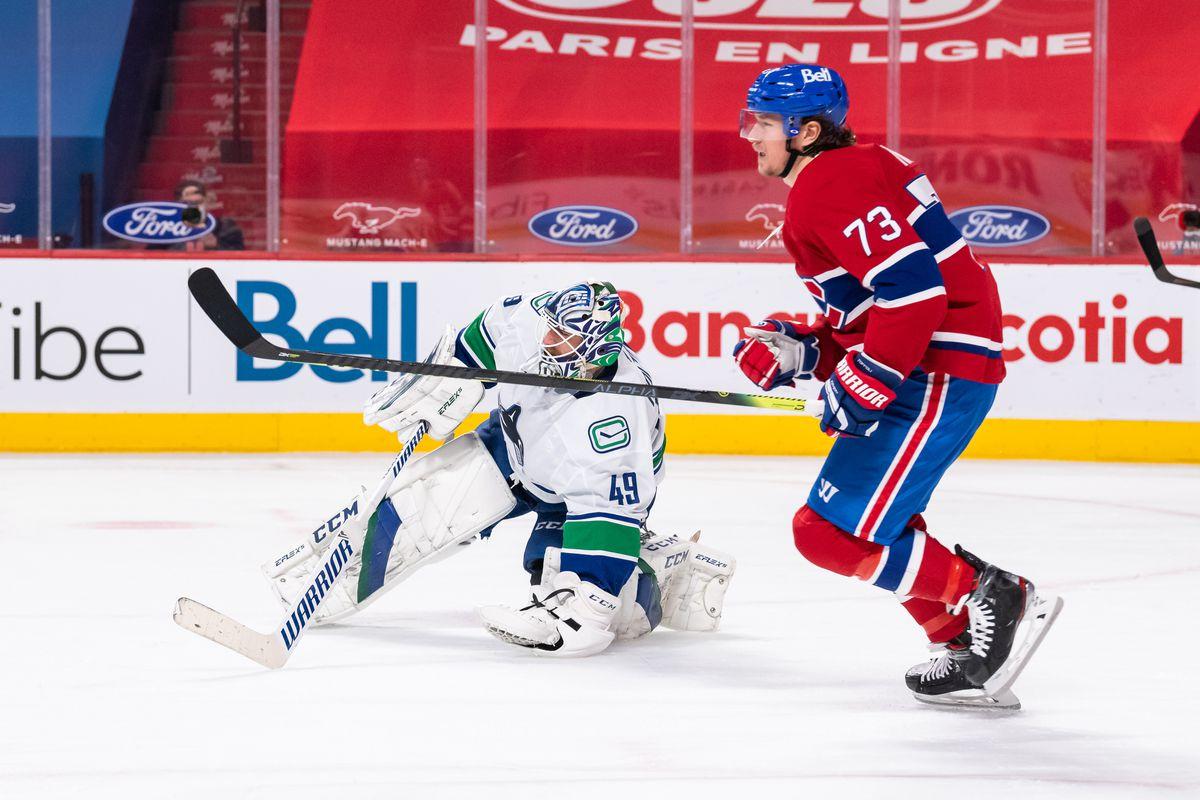 NHL: FEB 01 Canucks at Canadiens