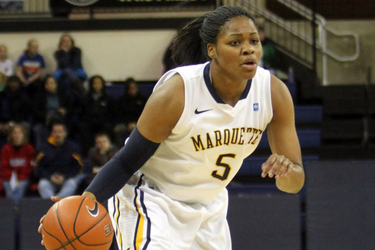 Katie Young has put together a stellar senior campaign, averaging 13 points and 10 rebounds.