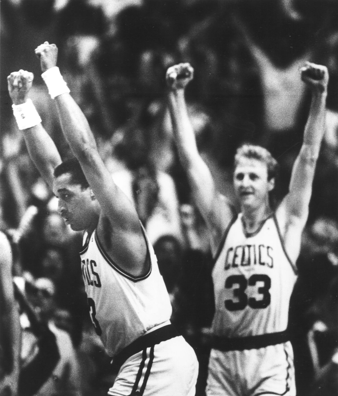 Detroit Pistons Vs. Boston Celtics At Boston Garden