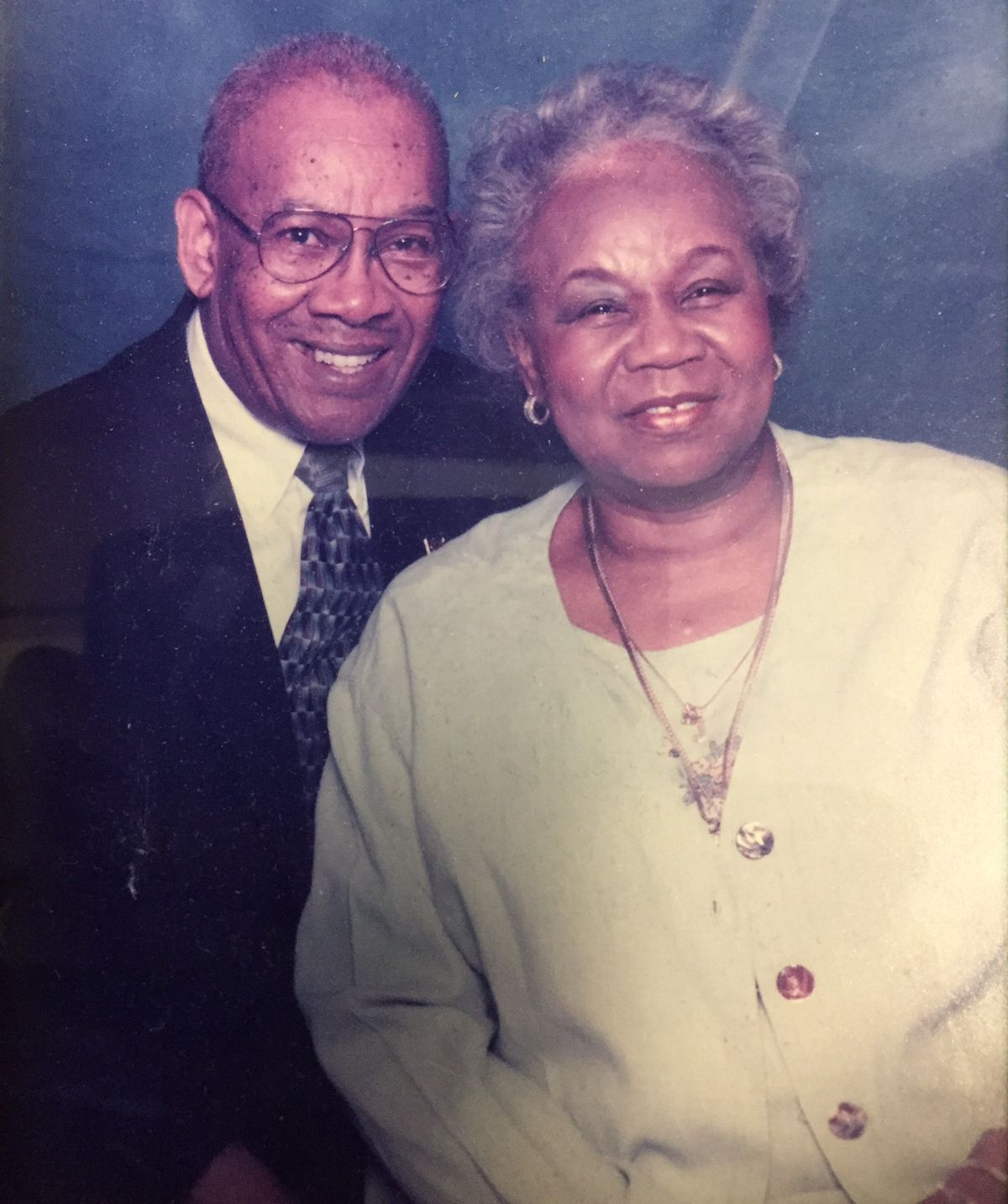Jerry and her husband, Obie Scott. | Family photo