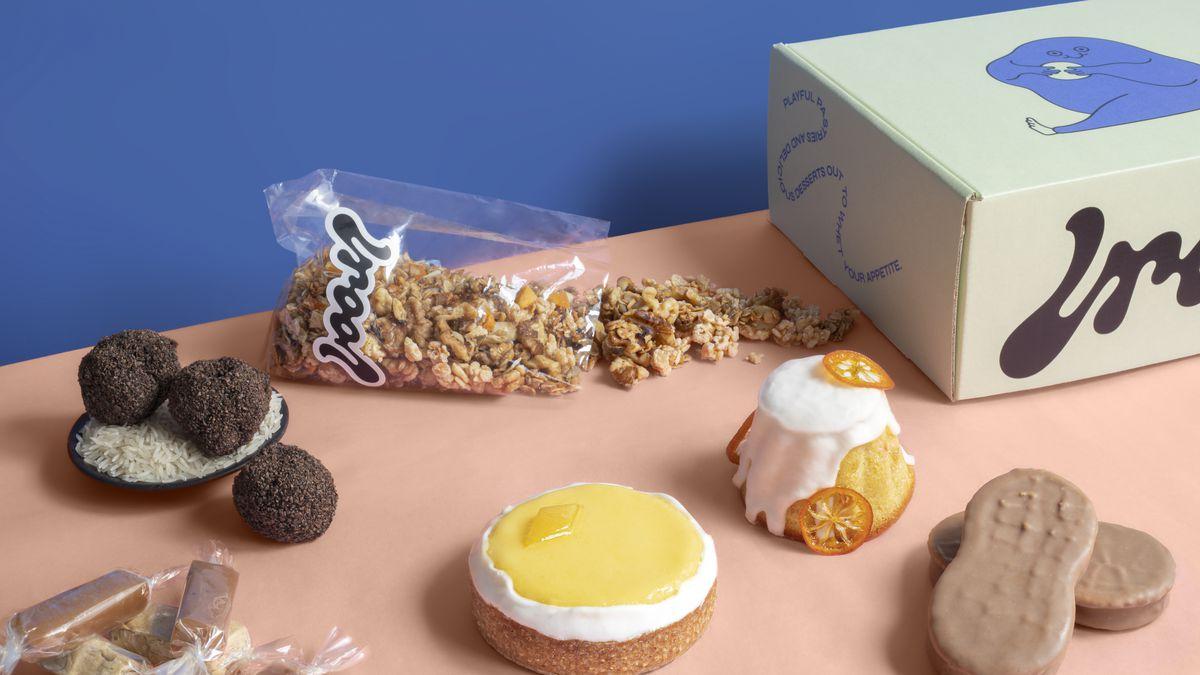 Drool pastry box