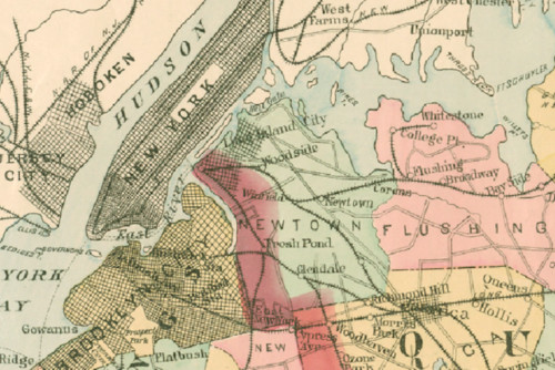 Map Of New York Showing Queens.How Queens Became New York City S Largest Borough Curbed Ny