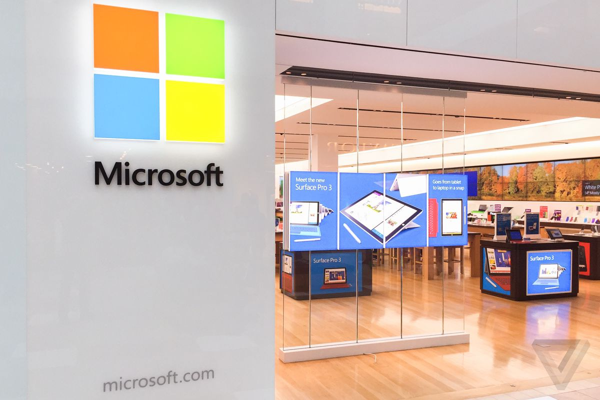 Microsoft takes big tax charge, stock falls