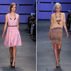 Dresses spotted inside the Proenza Schouler sale in July