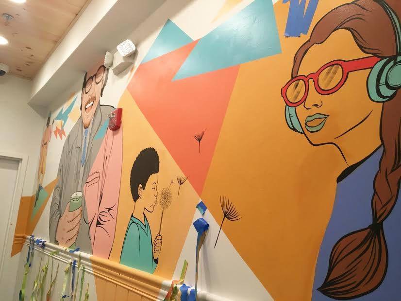 A mural at HipCityVeg in D.C. [Photo: Facebook]