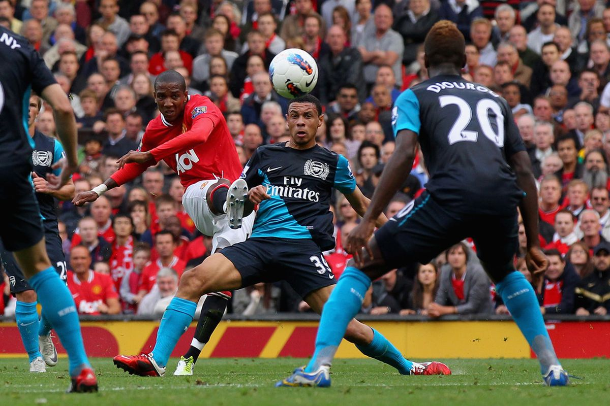 Ash unleashes a curling beauty in the 8-2 victory over Arsenal