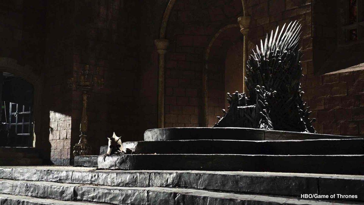 jeu de trônes trône de fer