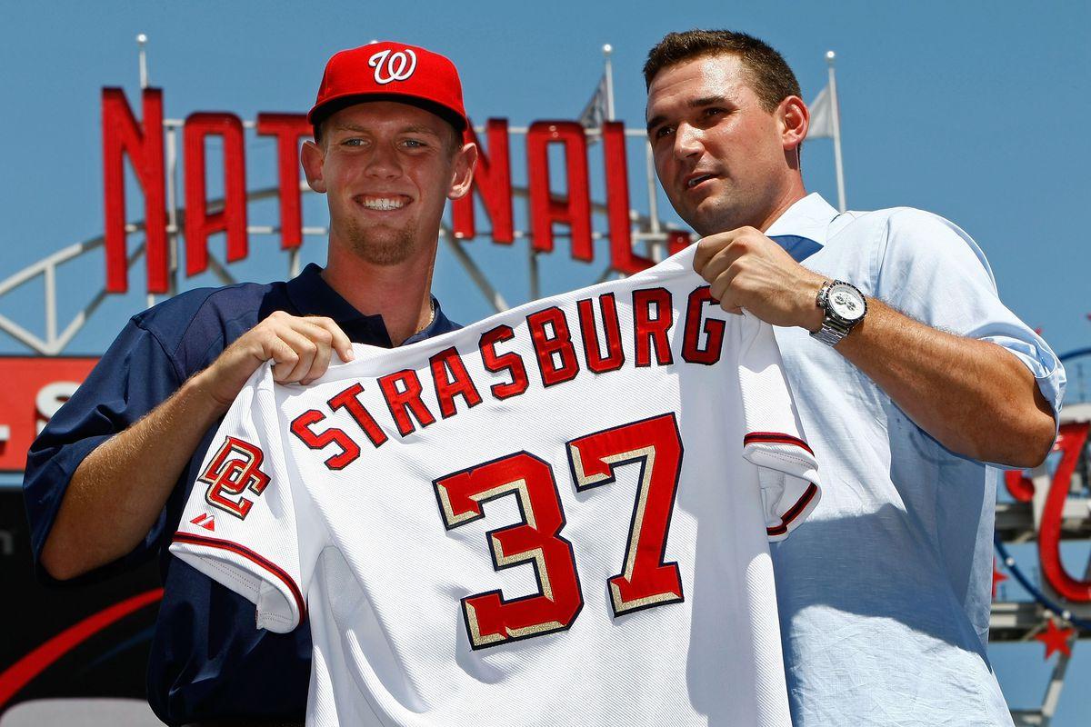 Washington Nationals Introduce Stephen Strasburg