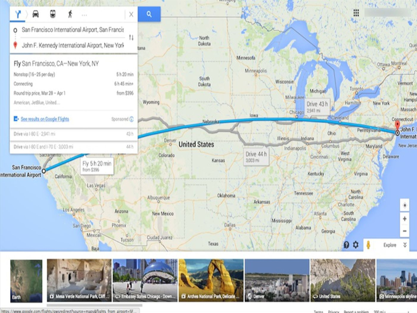 Five Tips and Tricks to Help You Better Navigate Google Maps ... Google Map Of Usa States on google united states map states, road map of usa states, topo map of usa states, mapquest of usa states, driving map of usa states,