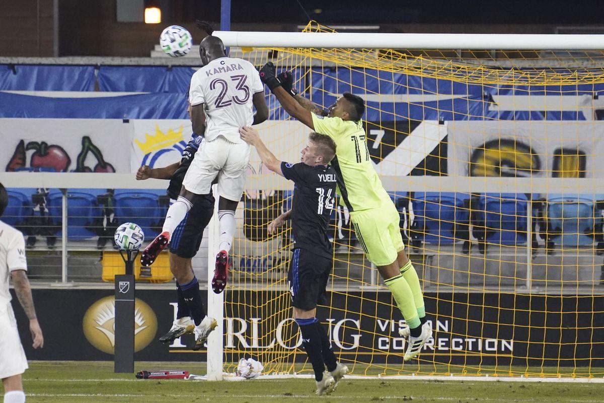 MLS: Colorado Rapids at San Jose Earthquakes