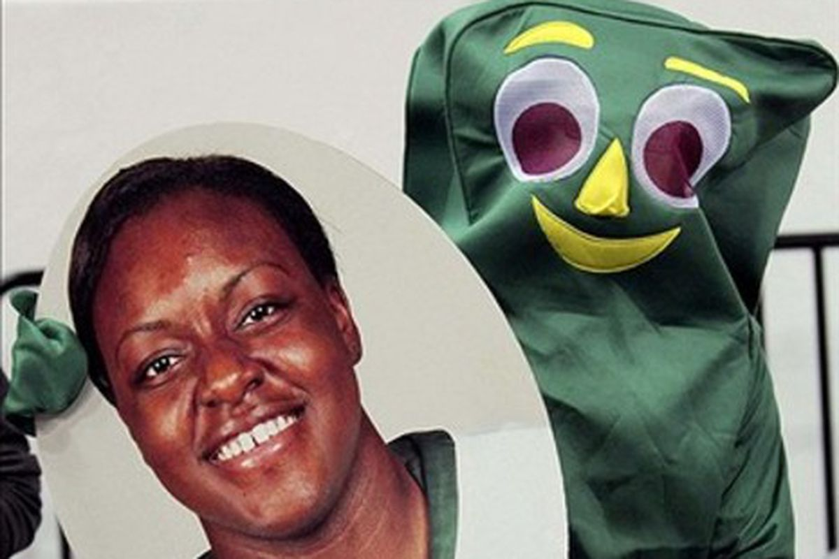 Search for Baylor, get Gumby.  Makes sense.