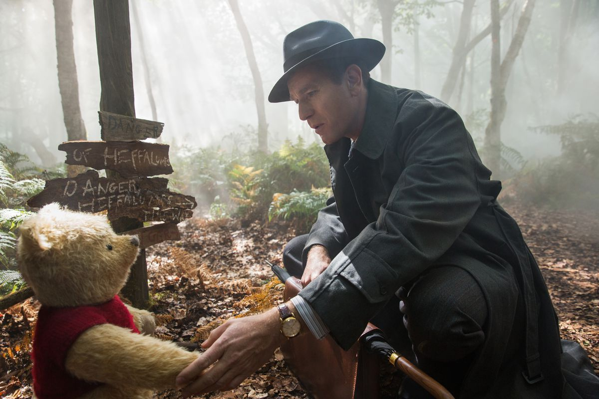 Christopher Robin takes Winnie the Pooh in a somber new direction