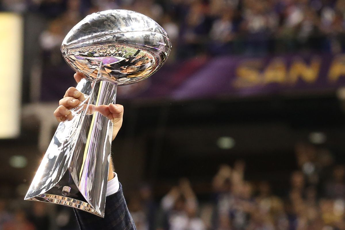 Insert Your This Is The Only Way Lombardi Trophy Will Come To Minnesota Joke Here USA TODAY Sports