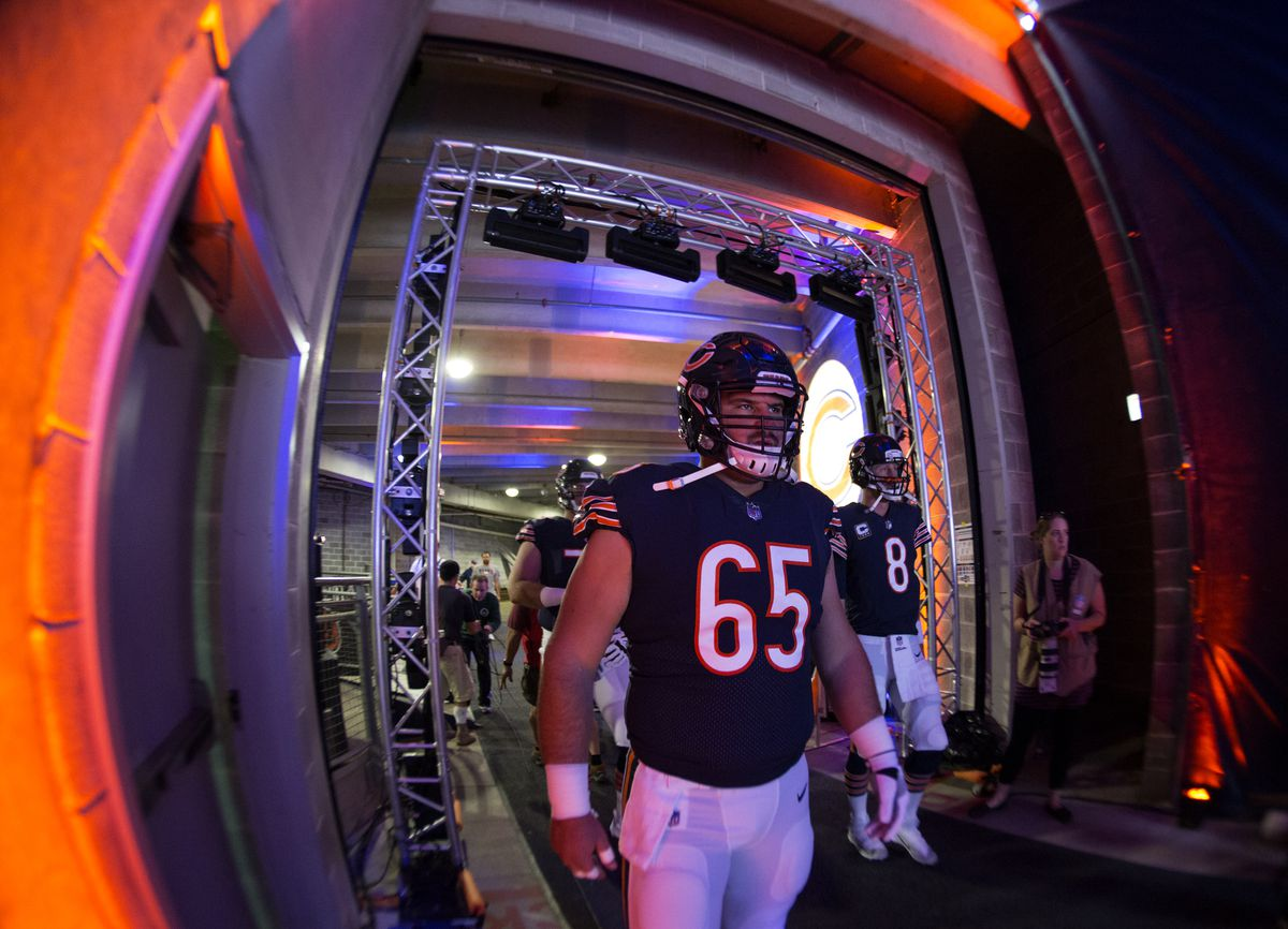 Chicago Bears 2018 53 Man Roster And Depth Chart