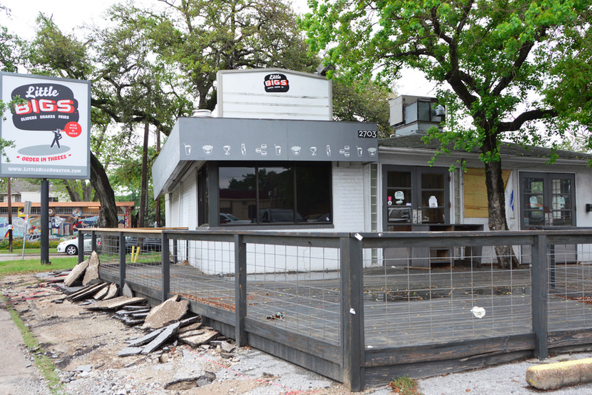 Construction moves forward at the former Little Bigs