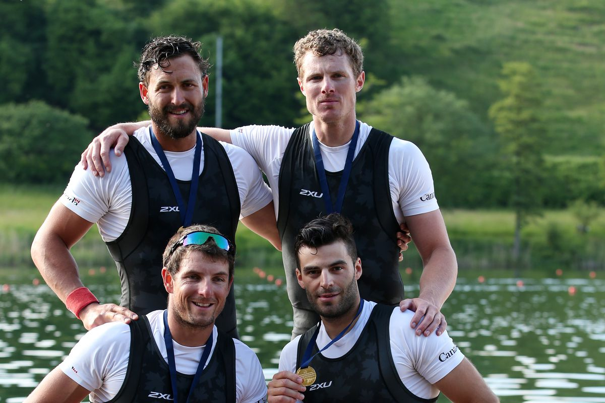 Cal alum Will Dean will compete in the quad scull with his Canadian teammates.