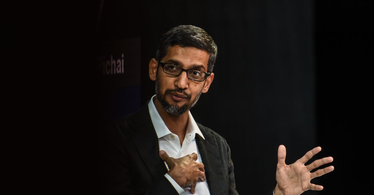 Google CEO Sundar Pichai to Testify Before House Committee on December 11th