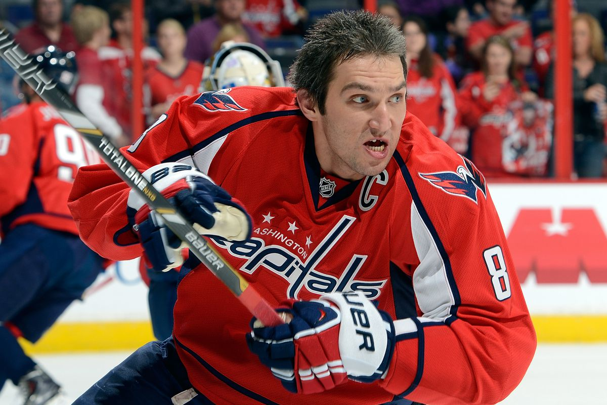 You can't stop Ovechkin, you can only hope to contain him. The Oilers didn't.