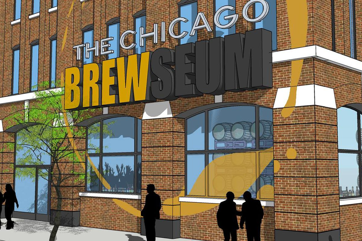 A rendering of The Chicago Brewseum