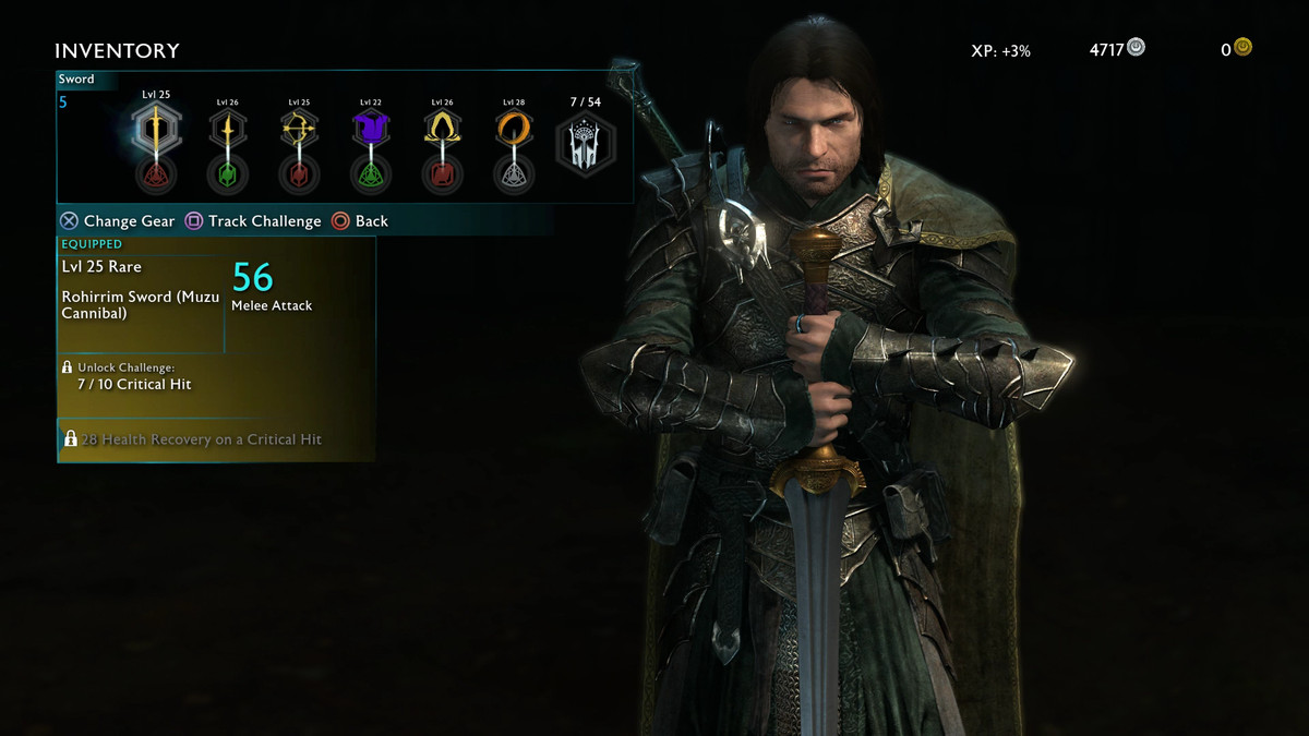 Middle-earth: Shadow of War guide: Inventory, gear, upgrades ...