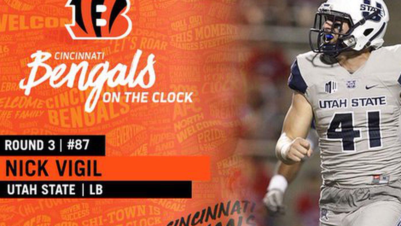 2016 NFL Draft: Utah State's Nick Vigil drafted by Cincinnati ...