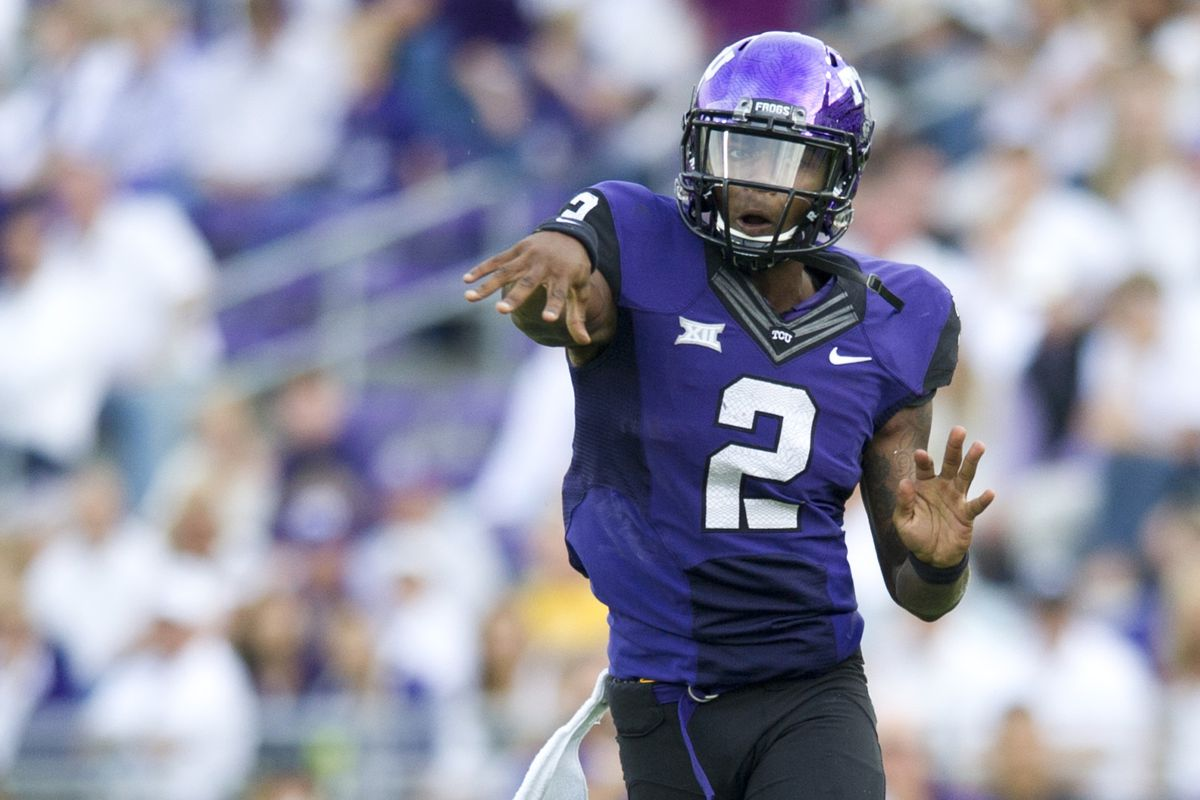 TCU is rising in the power rankings, but are they #1, or #2 like Trevone?
