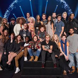 """The Top 24 contestants appear on the 15th and final season of """"American Idol."""""""