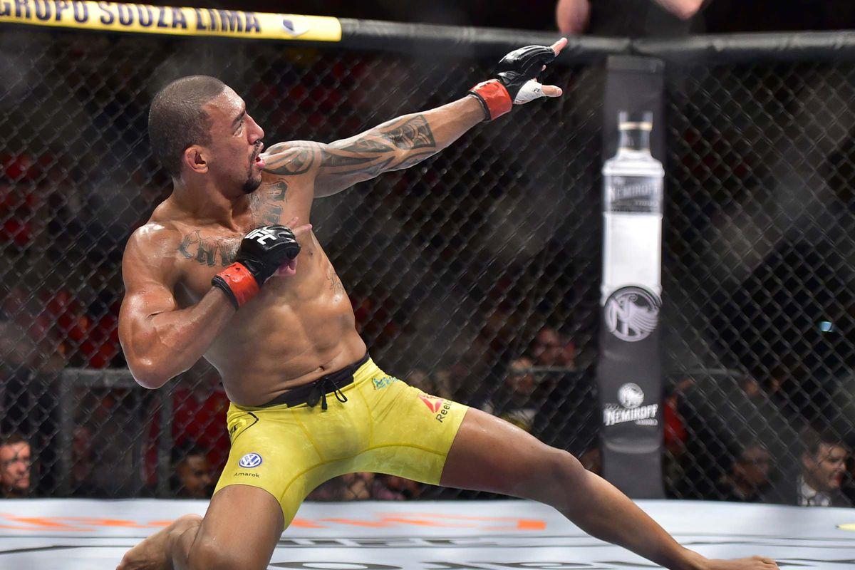 MMA: UFC 237- Barcelos vs Huachin