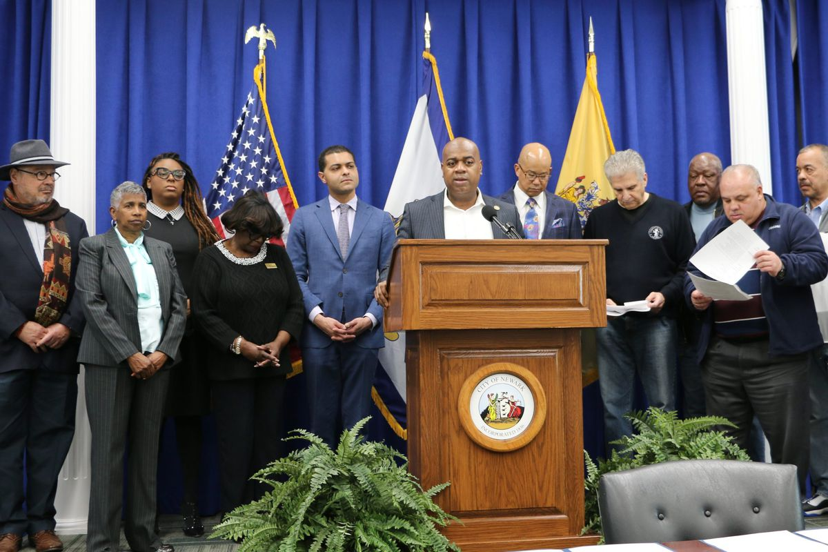 """With Newark schools temporarily shuttered due to the coronavirus, Mayor Ras Baraka told students: """"We want you to stay in the house, we want you to do the work that you're supposed to do."""""""