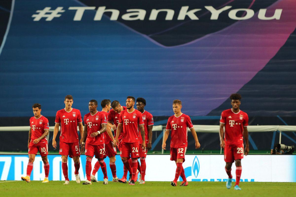 Olympique Lyonnais v Bayern Munich - UEFA Champions League Semi Final