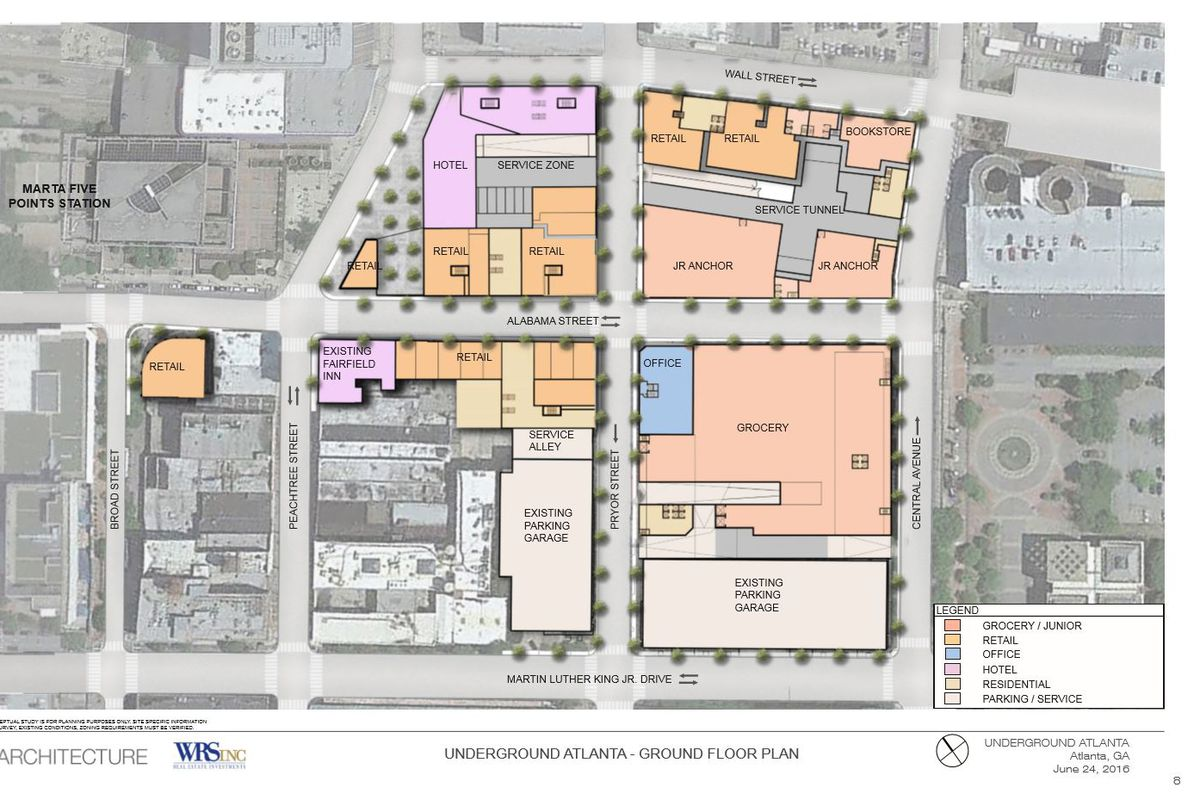 Underground Atlanta plans unveiled, future still unclear   Curbed