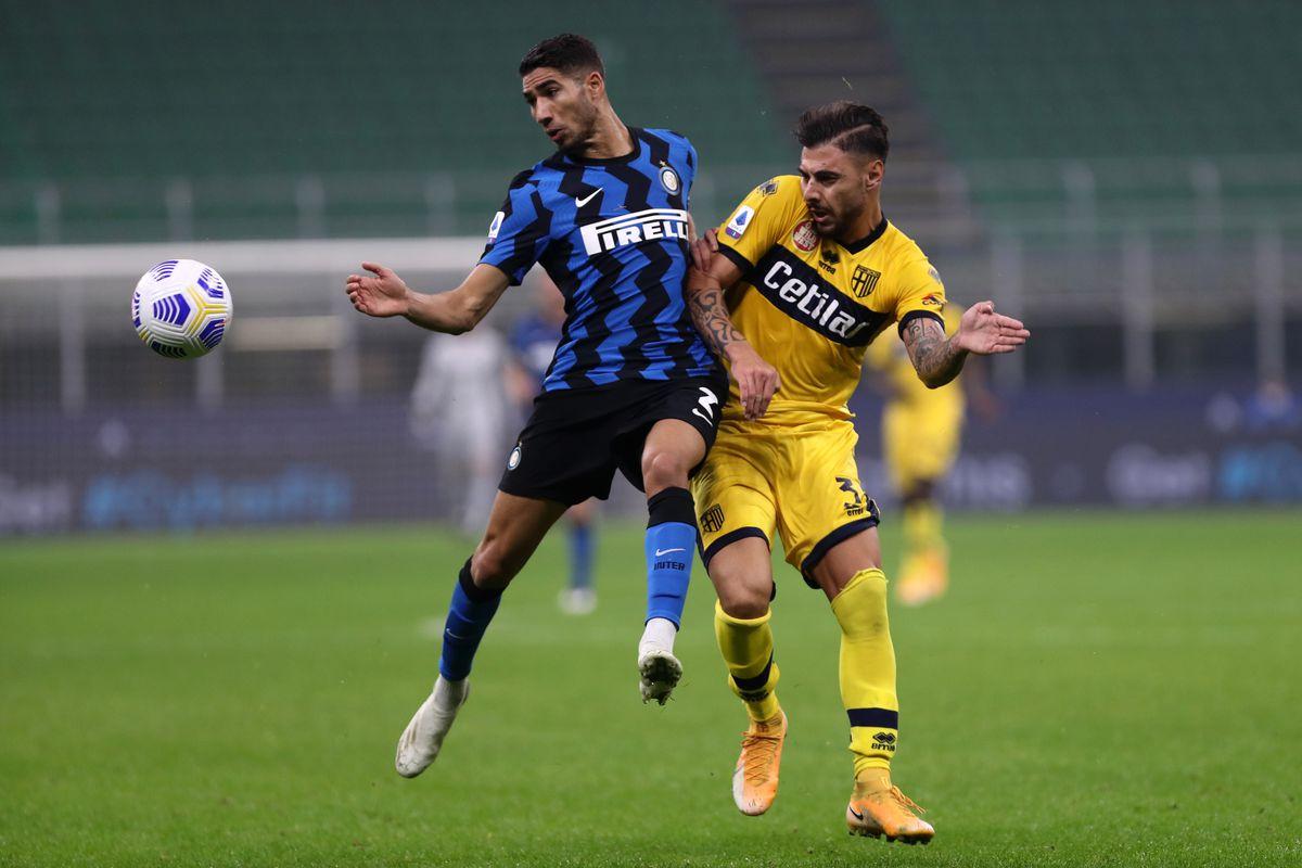Parma vs Inter Milan