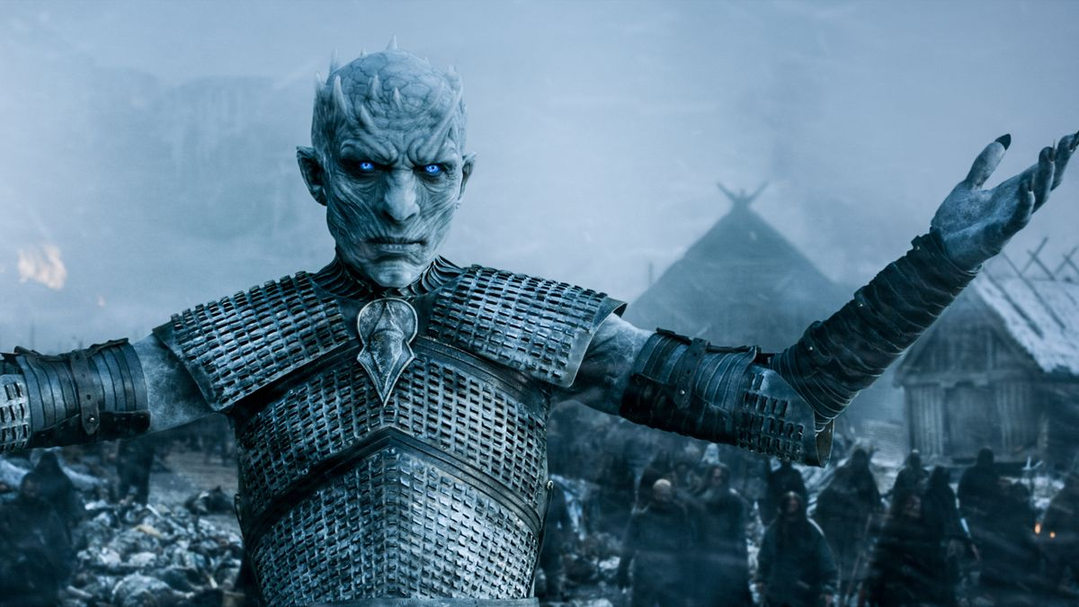 Game of Thrones - the Night King raising the dead