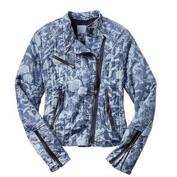 """<b>Gap</b> Quilted Floral Chambray Moto Jacket, <a href=""""http://www.gap.com/browse/product.do?cid=5736&pid=959403&vid=1&scid=959403022"""">$118</a>"""